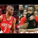 Chris Paul's numbers with James Harden on the bench were very CP3-like | The Jump
