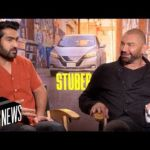 'Stuber' Actors Kumail Nanjiani & Dave Bautista On Their New Movie & 1st Impressions | MTV News