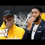 LeBron is not the clear-cut leader on the Lakers – Ryan Hollins | First Take