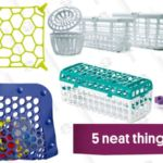 These Dishwasher Inserts Make Your Top Rack Way More Useful