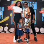 Ciara & Russell Wilson Prove They're Cool Parents With Daughter, 2, & Son, 5, At Kids' Choice Sports Awards