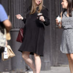 Pregnant Chelsea Clinton, 39, Looks About To Pop Grabbing Iced Coffee In NYC — Pic