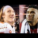 Trevor Lawrence is better than Tua and Clemson is better than Alabama – Paul Finebaum | First Take