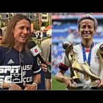 Megan Rapinoe steps up when the spotlight is at its brightest – Heather O'Reilly | 2019 ICC