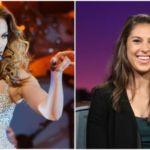 Jennifer Lopez Gave Soccer Champion Carli Lloyd a Sensual Lap Dance on Stage
