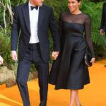 Meghan Markle Looks Gorgeous At 'The Lion King' London Premiere In Black Semi-Sheer Dress – Pics