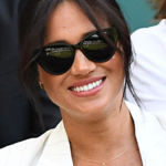 Meghan Markle Honors Baby Archie With 'A' Necklace While Cheering On Serena Williams At Wimbledon