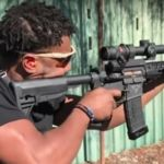 Watch Michael B. Jordan Gun Down Targets in Firearms Training Video for 'Black Panther'
