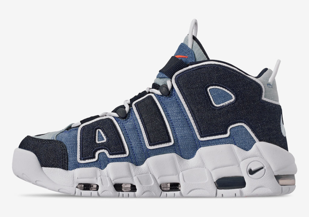 air more uptempo nere e rosa