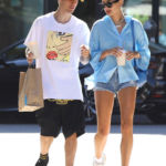 Hailey Baldwin Has Legs For Days In Tiny Daisy Dukes On Lunch Date With Justin Bieber