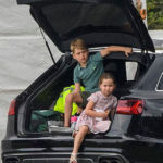 Prince George & Princess Charlotte Look Adorable While Playing Soccer At Polo Match — Pics