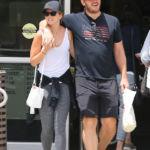 Chris Pratt & Katherine Schwarzenegger Look So In Love Over Lunch In LA After Returning From Honeymoon
