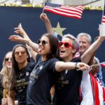 Alex Morgan, Megan Rapinoe, Women's National Soccer Team Live Their Best Lives at Parade of Champions