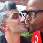Queer Eye's Tan and Karamo Jokingly Kiss After Jonathan and Antoni's Fake Romance