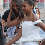 Michelle Obama Reveals Both Daughters, Sasha & Malia, Had Their 1st Kisses While In The White House