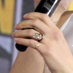 Scarlett Johansson Debuts Engagement Ring At Comic-Con: See Her Gorgeous Sparkler