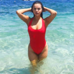 Selena Gomez & More Stars Who Rocked The Signature 'Baywatch' Swimsuit — Sexy Pics