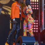 Offset & Cardi B Kiss During Wild 'Jimmy Kimmel Live!' Performance Of 'Clout'