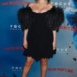 Kim Kardashian, Selena Gomez & More Celebs Rocking Off-The-Shoulder Mini Dresses