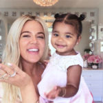 Khloe Kardashian Sweetly Cuddles With True Thompson While Sharing Her New Mom Beauty Routine