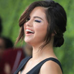 Selena Gomez Stuns In Black Strapless Gown As MOH At Her Cousin's Wedding
