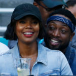 Gabrielle Union & Dwyane Wade Flash Huge Smiles While Snuggling Baby Kaavia On 4th Of July