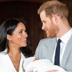 Meghan Markle & Prince Harry Lovingly Cradle Baby Archie For His Royal Christening — See Photo