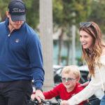 Chris Pratt Goofs Around With Katherine Schwarzenegger & Son Jack, 6, At The Beach