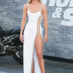 The Rock, Rosie Huntington-Whiteley & More Stars Dazzle On 'Fast & Furious' Premiere Carpet – Pics