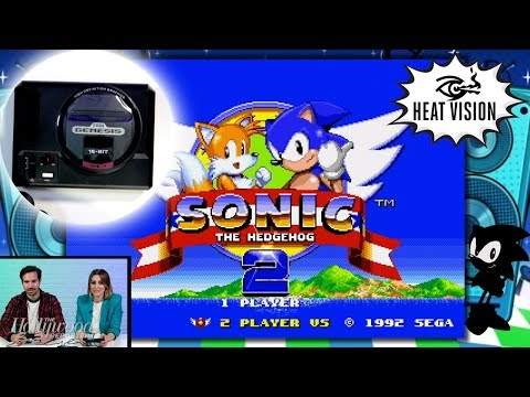 Sega Genesis Mini Unboxing Gameplay Sonic The Hedgehog 2 More Heat Vision E Radio Usa