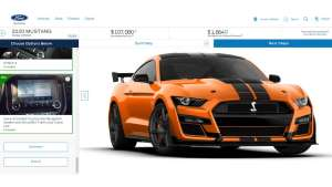 a screenshot of a car: Most Expensive Shelby GT500
