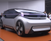 a person standing in front of a car: Volvo's 360c concept is a luxury jet on wheels