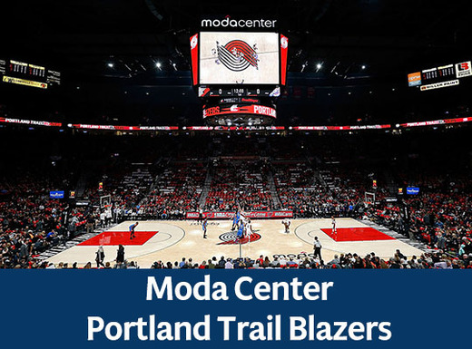 Moda Center  Portland Trail Blazers