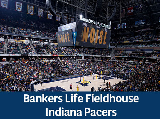 Bankers Life Fieldhouse  Indiana Pacers