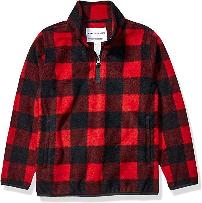 amazon-essentials-polar-fleece-quarter-zip-jacket