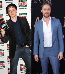 James McAvoy transformation