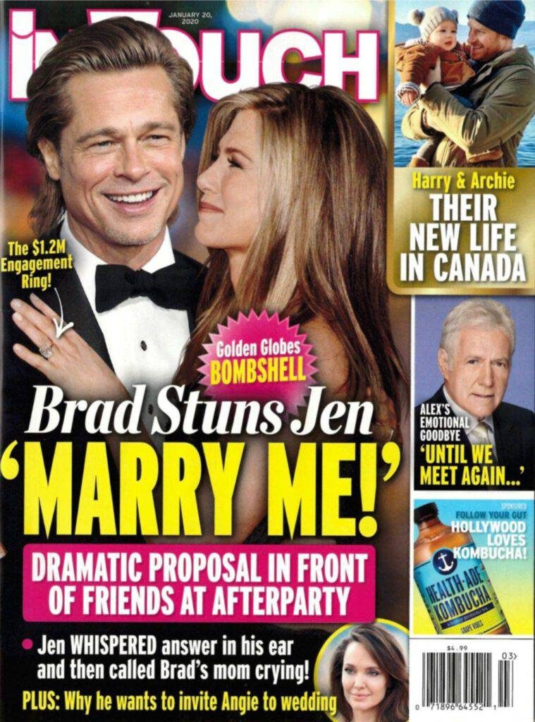 Brad Pitt And Jennifer Aniston Yup Still Not Dating After All These Years E Radio Usa