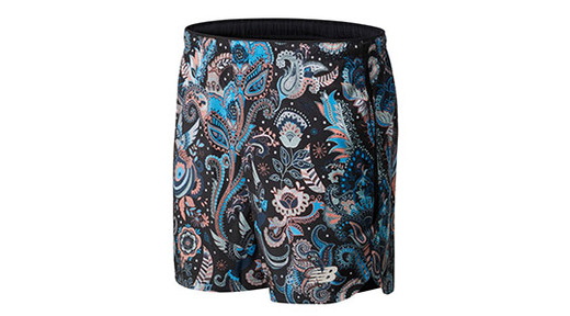 New Balance Printed Velocity 7 Inch 2-In-1 Shorts