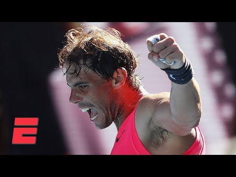 Rafael Nadal Dominates Pablo Carreno Busta In Straight Sets 2020 Australian Open Highlights E Radio Usa