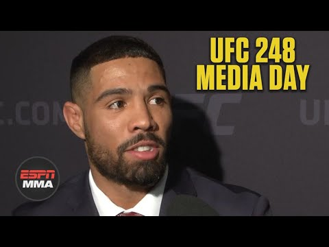 Max Griffin Tells Story Of Seeing Ggg At Ufc Pi Ufc 248 Media Day Espn Mma E Radio Usa