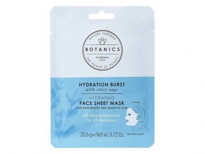 dermatologist skincare routine botanics mask