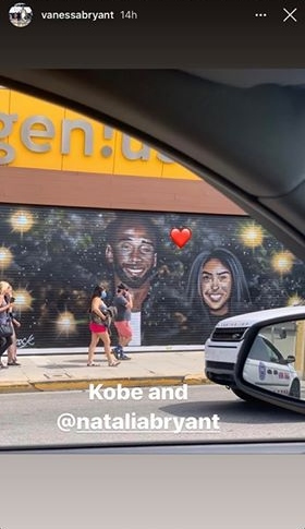 Vanessa Bryant Appreciates Kobe Murals Being 'Saved' From Damage Amid the Protests in Los Angeles.