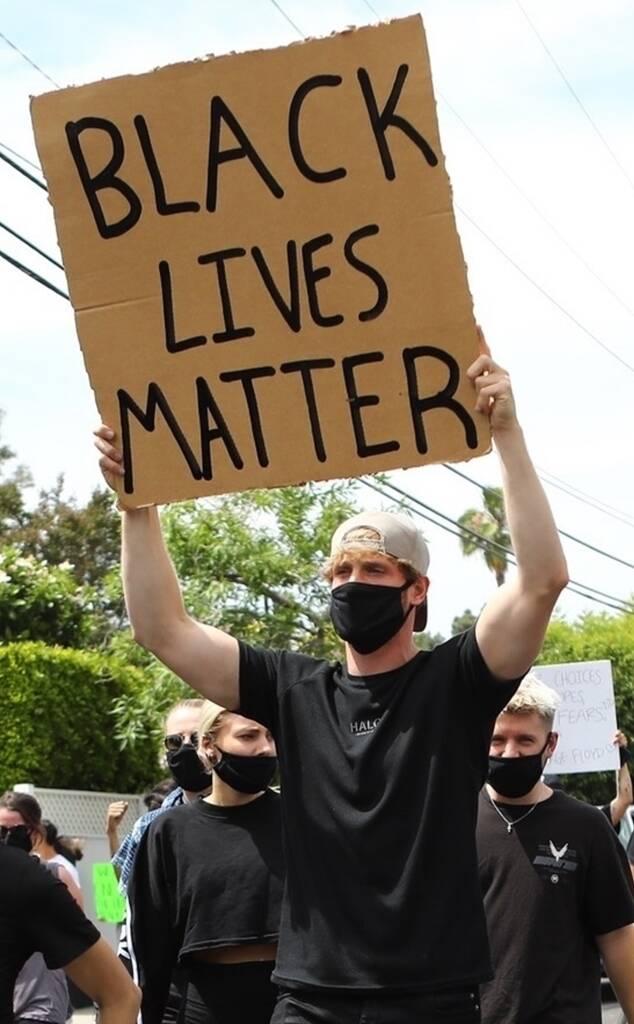 Logan Paul , Protest