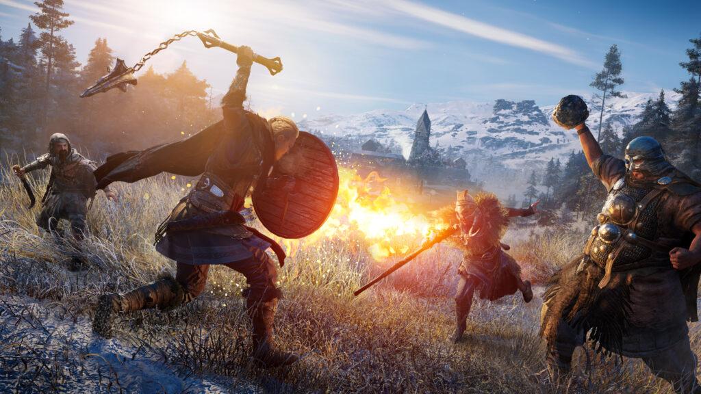 The Viking Fantasies Of Valhalla Make For A Warlike Assassin S Creed E Radio Usa