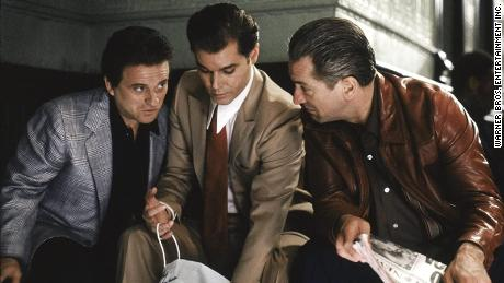 """(From left) Joe Pesci, Ray Liotta and Robert De Niro play mob partners in the iconic """"Goodfellas."""""""