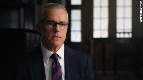 Former acting FBI director Andrew McCabe.