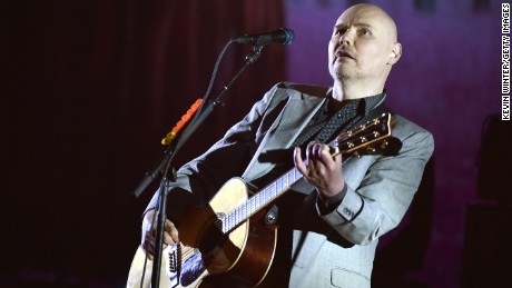 The Smashing Pumpkins releases its 11th studio album this Friday. Shown here is lead singer Billy Corgan.