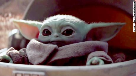 """Who can resist the cuteness that is Baby Yoda in """"The Mandalorian""""?"""
