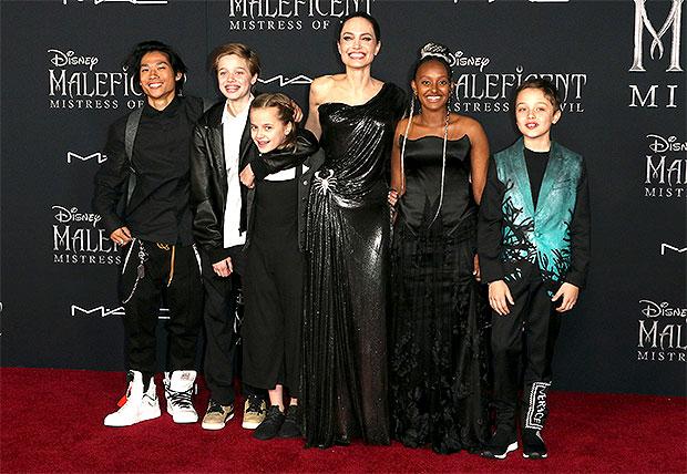 Angelina Jolie Kids Cell Phones